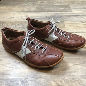 Born Leather Lace Up Shoes Size 13